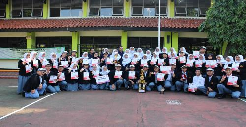 Kejayaan SMKN 57 Jakarta di Lomba The 3 rd Lacuisin Competition
