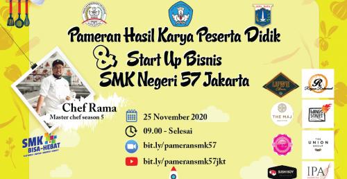 Pameran Hasil Karya Peserta Didik dan Start Up Bisnis 2020
